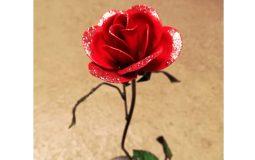 Neues aus der Schmiede – Rose mit Glitzer